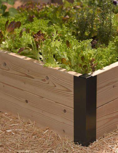 raised garden bed corner brackets raised bed brackets superponic hydroponic systems