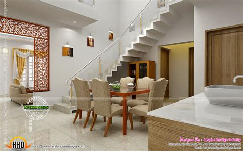 dining kitchen living room interior designs kerala home dining room designs beautiful homes interiors house