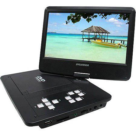 sylvania(r) sdvd1030 10 swivel screen portable dvd player