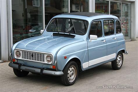 renault car 1990 1990 renault 4 gtl gentry automobiles