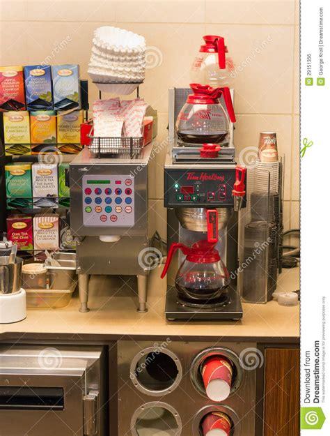 Tim Hortons Coffee Machine Editorial Photo   Image: 29151356