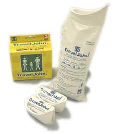 Vw Drive Away Awning Traveljohn Disposable Unisex Urinal 3 Pack