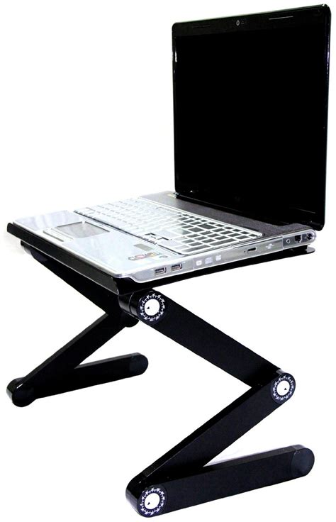 ipad stands for bed 1 black aluminum folding table ipad tablet stand 17