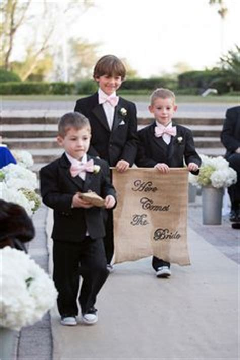 Wedding Banner For Ring Bearer by 1000 Images About Ring Bearer On Ring Bearer
