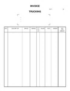 invoice template for trucking company trucking forms pdf fill printable fillable