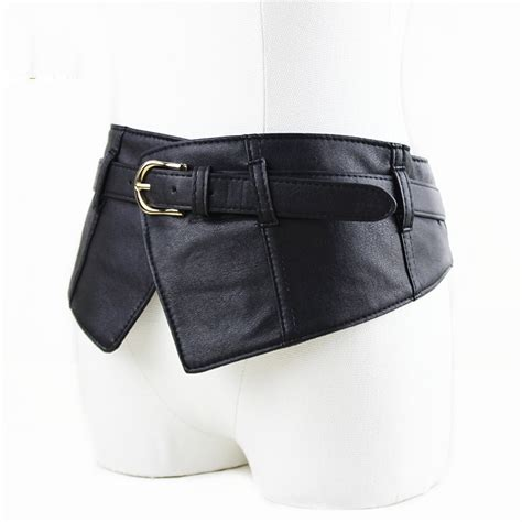 Repeat Trend Wide Belts by New Fashion Ultra Wide Belt Girdle Elastic Waist