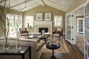 Large Living Room Houzz Lafayette Residence One