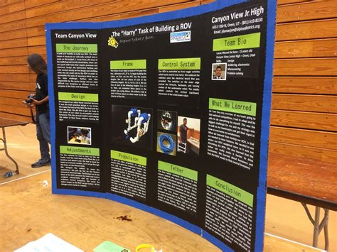 Poster Board Exles Alvin Seaperch Tri Fold Presentation Board Templates