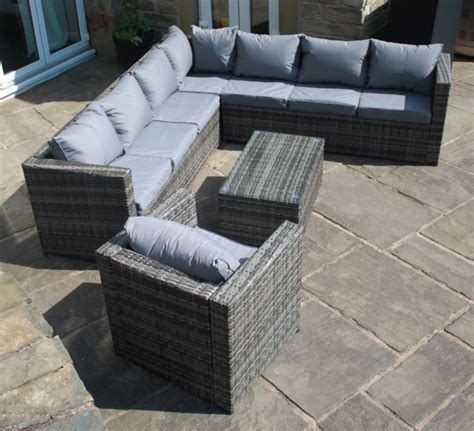 mix and match sofas grey rattan mix and match modular corner sofa outdoor