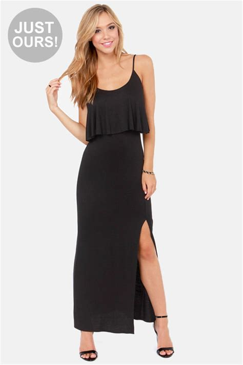 Lulus Exclusive Offer Get 15 On Fab Clothes by Casual Black Dress Maxi Dress Sleeveless Dress 40 00