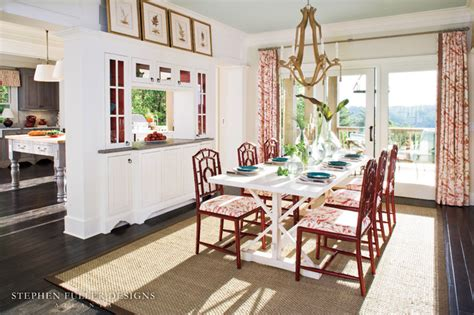 Southern Dining Rooms by 2009 Idea House For Southern Living Magazine Traditional