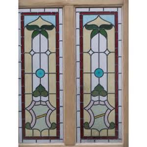 Stained Glass Front Door Panels Sd035 Edwardian Original 4 Panel Stained Glass Exterior Door