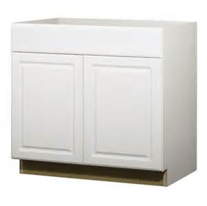 35 in h x 36 in w x 24 in d concord white door and drawer base cabinet
