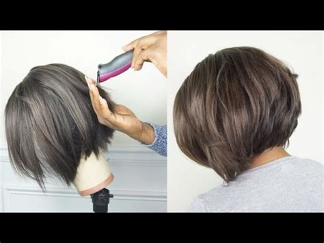 video of jow to razor cut around the ear how to clipper razor cut a bob tutorial final wig