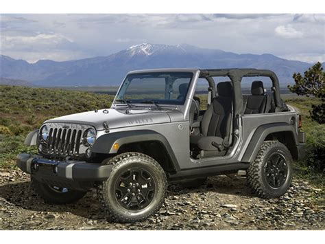 Jeep Values Jeep Wrangler Prices Reviews And Pictures U S News