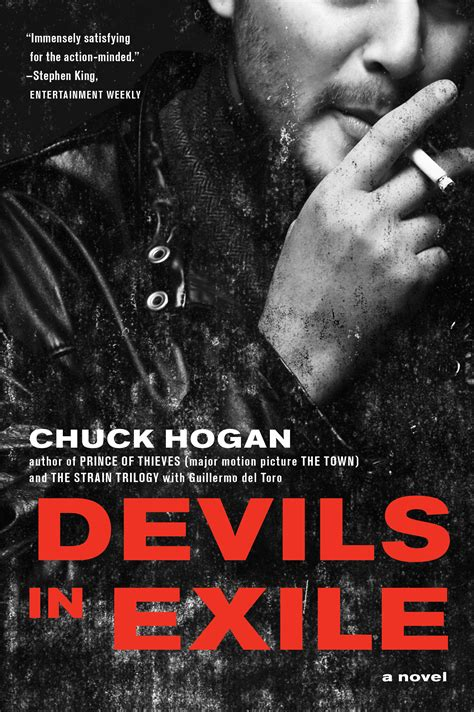 hr biography exle devils in exile book by chuck hogan official publisher