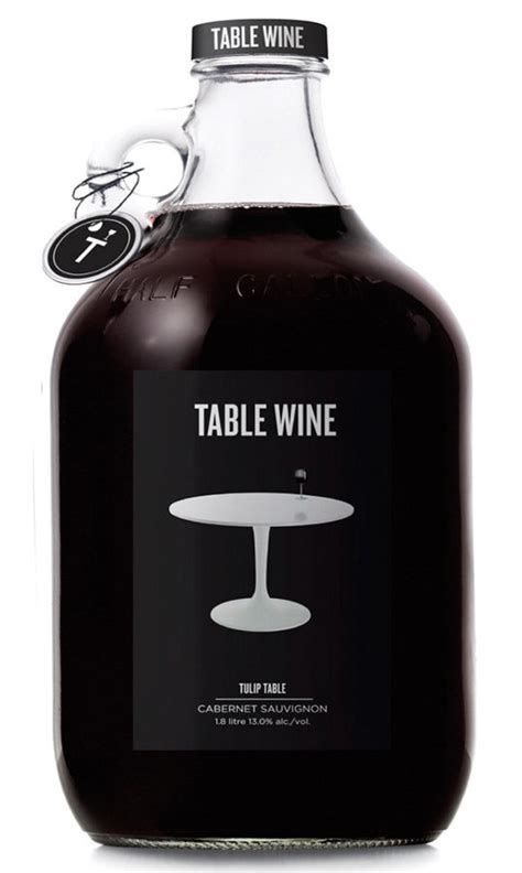 table wine the design of wine 30 brilliant wine packaging designs thecoolist the modern design