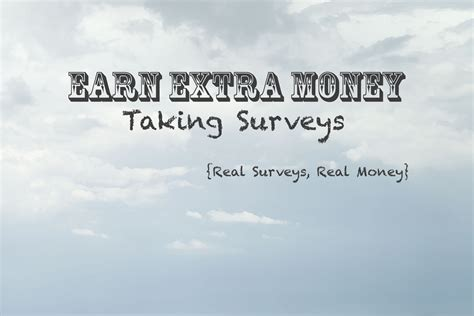 Taking Surveys For Money - earn some extra money taking surveys real surveys that pay real cash or gift cards
