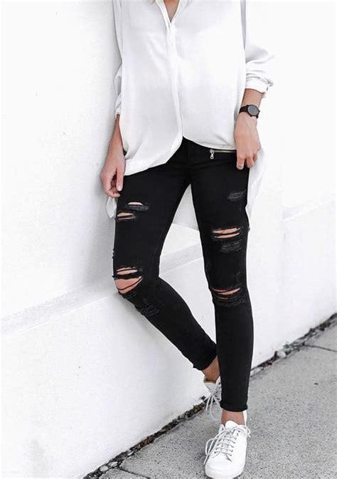 ideas para decorar jeans rotos outfits con jeans rotos 3 curso de organizacion del
