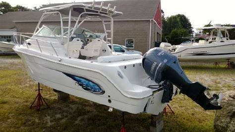 used boat motors ct robalo 245 ct 3 atlantic outboard