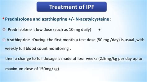 anti acid treatment and disease progression in idiopathic practical approach to idiopathic pulmonary fibrosis