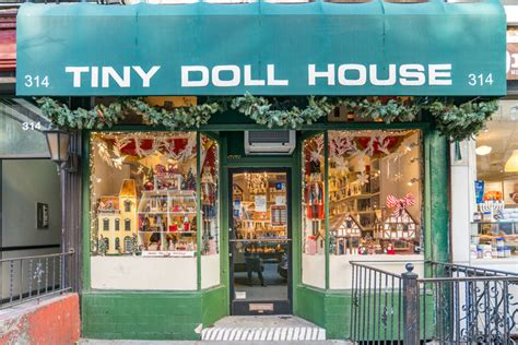 dollhouse nyc tiny doll house manhattan sideways