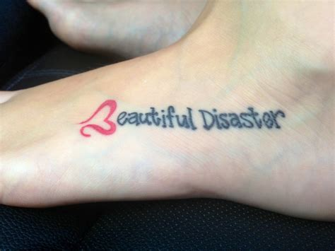 beautiful disaster tattoo best 25 beautiful disaster ideas on