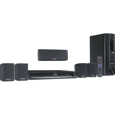 panasonic sc pt464 5 1 channel home theater system sc