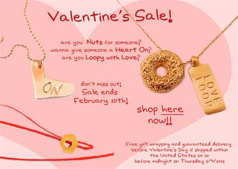 valentines jewelry sale mr kate valentine s jewelry sale