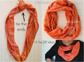 How To Put On An Infinity Scarf 5 Easy Ways To Wear A Scarf Hip2save