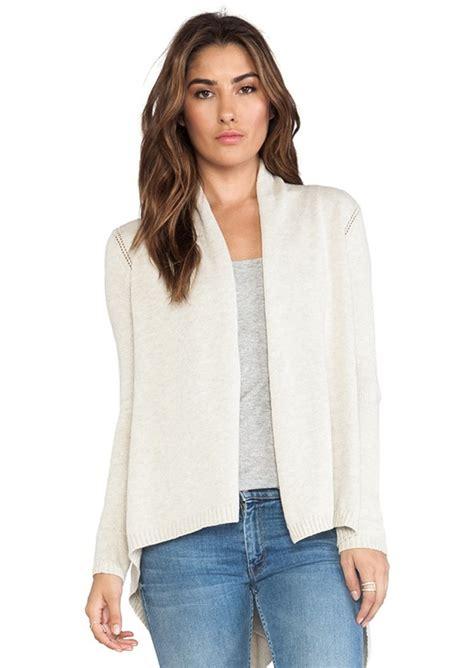 autumn cashmere drape cardigan autumn cashmere autumn cashmere open drape cardigan in