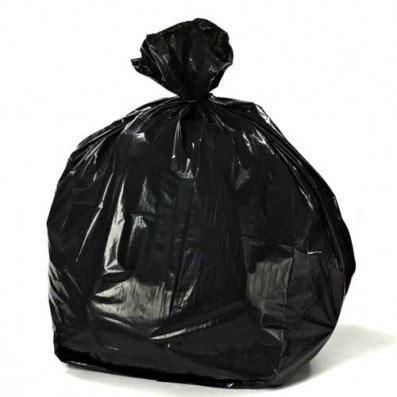 Tasjh Bag 2 7 10 gallon black trash bags 1 2 mil 24 quot x24