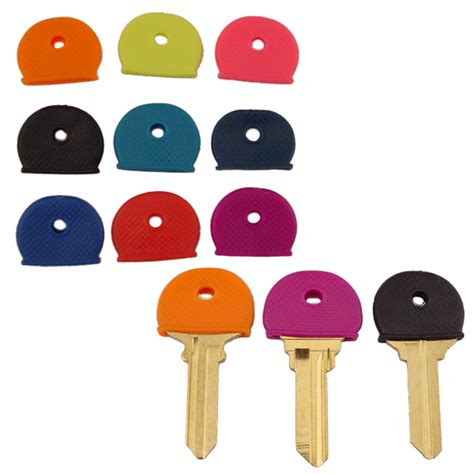 colored key covers key identifier cap key cover