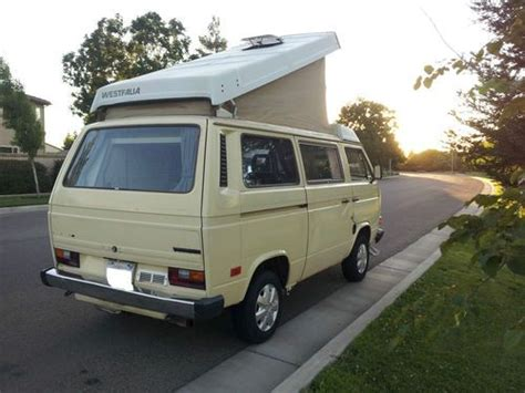 all car manuals free 1984 volkswagen vanagon windshield wipe control purchase used 1984 volkswagen vanagon westfalia cmobile van cer 3 door 1 9l in tulare