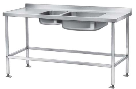 Furniture Chic Stainless Steel Prep Table For Kitchen