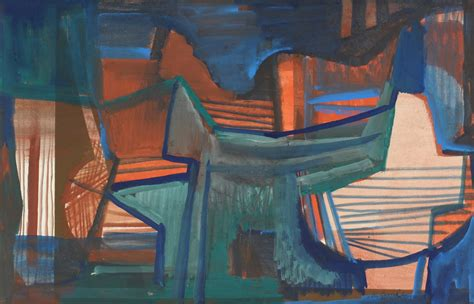 lot 177 roberto burle marx abstract painting