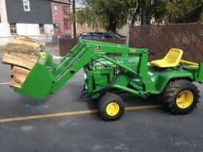 1992 420 deere tractor with loader ebay