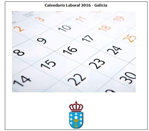 Calendario Xunta 2015 Calendario Laboral 2015 Galicia Xunta Calendar Template 2016