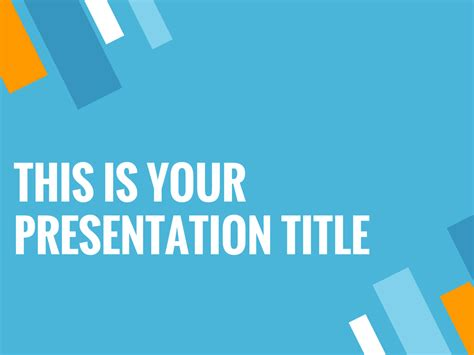 free presentation template modern and dynamic for startups