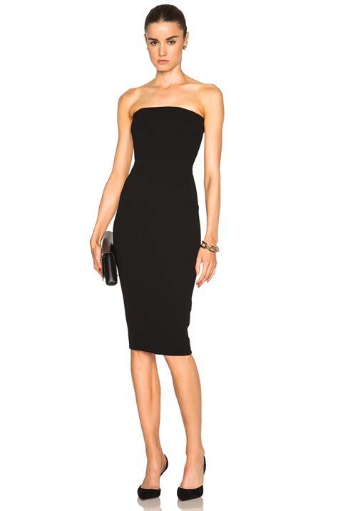 Beckham Dress beckham matte crepe corset fitted dress