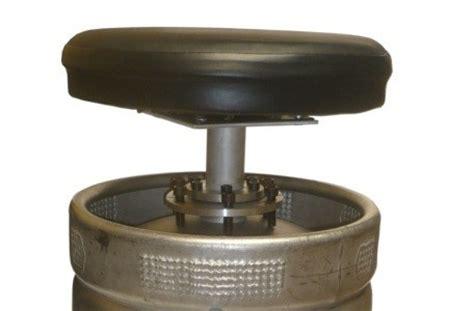 Keg Bar Stool Kit by Empty Steel Keg Barrel Bar Stool Seat Assembly Kit Ebay