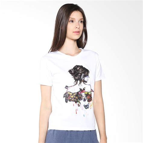 Kaos Cewek Branded Tumblrtee jual daily deals jclothes kaos wanita branded bodygirl putih harga