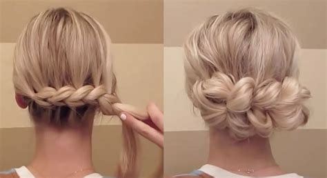 quick and easy romantic hairstyles best 25 quick easy updo ideas on pinterest quick easy
