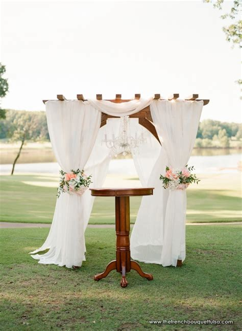 Chandelier Wedding Arch The Bouquet Inspiring Wedding Event Florals 187 Outdoor Ceremony Arches