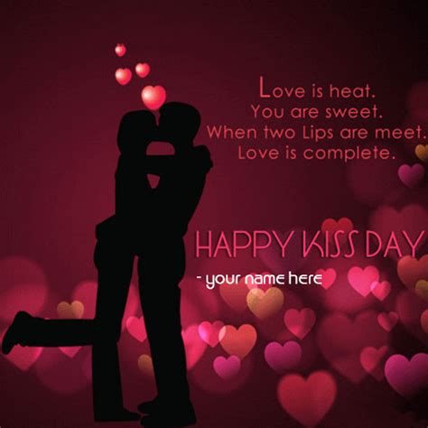 kiss day quote  girlfriend