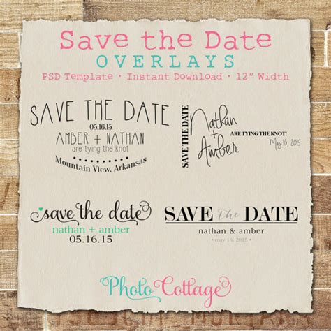 save the date templates photoshop photoshop save the date photo overlay picture overlays