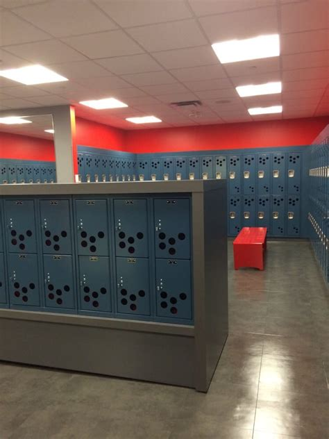 Big Locker Room by Locker Room Is Quite Big There Are Also Some Small