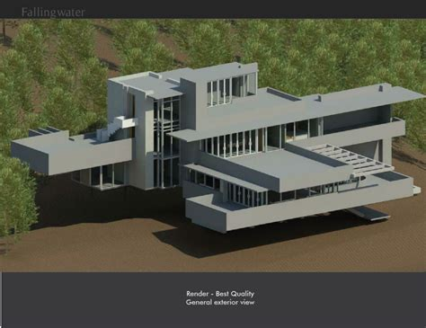 falling water house plan fallingwater house juliana cervera