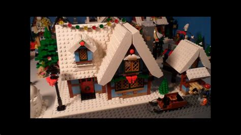 lego 10229 winter village cottage review creator youtube