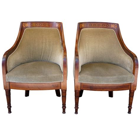 edwardian armchairs pair of edwardian armchairs at 1stdibs